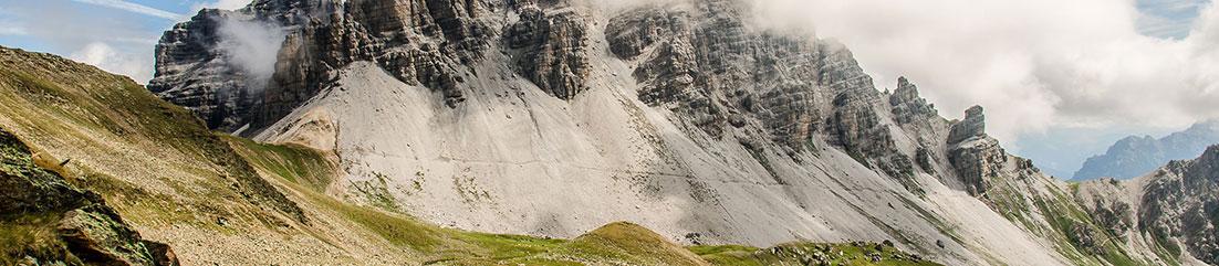 Berg Einleitung Trekkingstöcke Test